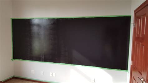 chalkboard paint on drywall chalk wall paint abram s painting