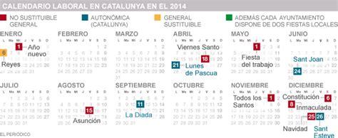 barcelona calendario laboral 2014 calendari laboral 2014 imagui