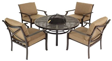 Oliver Patio Set by Oliver Classic 4 Seater Pit Set Bronze