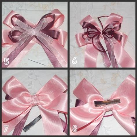 free hair bows instructions free written hair bow how to add a center knot to a hair