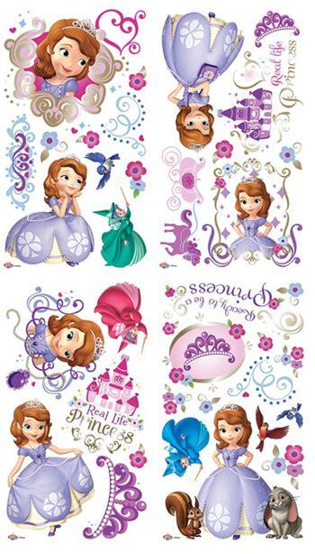 princess sofia wall stickers character zakka shop pretzel rakuten global market