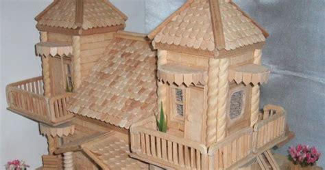 Lu Tidur Dari Stik Es miniatur rumah dari stik es dunia arsitek