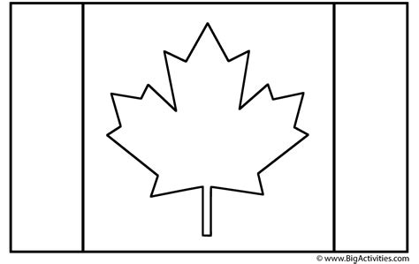 Canadian Flag Coloring Page Remembrance Day Flag Colouring Pages