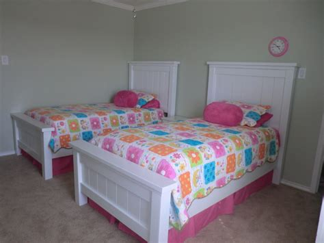 elegant white twin beds for girls house photos