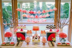 Rose themed 18th birthday party