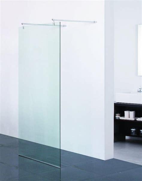doccia parete parete doccia in vetro temperato 100x75 120 cm