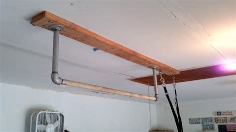 Garage Pull Up Bar by Garage Pull Up Bars And Rings Hung For The Home