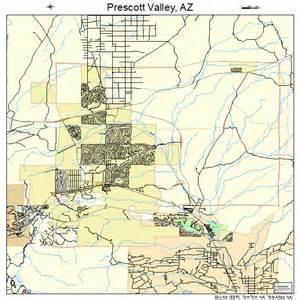 map of prescott arizona area prescott valley arizona map 0457450
