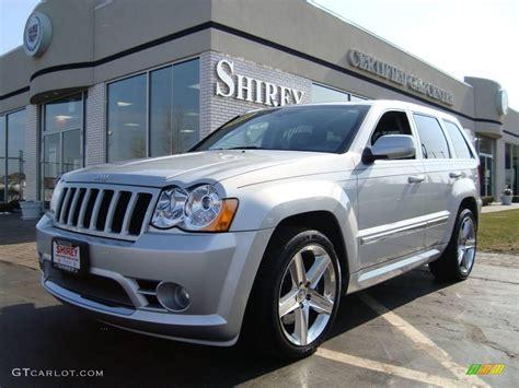 silver jeep grand cherokee bright silver metallic srt black jeep grand cherokee srt8