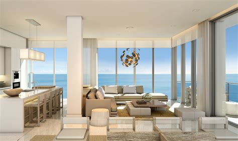 living room miami beach debora aguiar design miami beachfront condos 1 hotel
