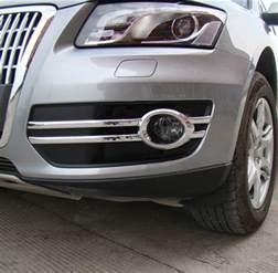 2012 Audi Q5 Accessories Fit For 2009 2012 Audi Q5 Chrome Front Fog Light Cover