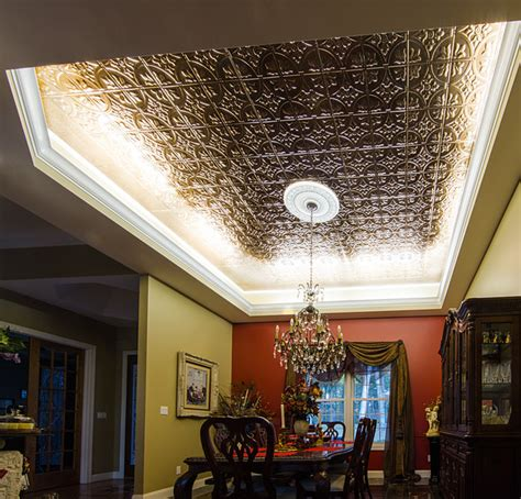 led ceiling cove lighting eclectic dining room other