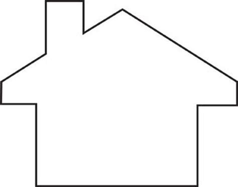 9 best images of house outline printable house outline