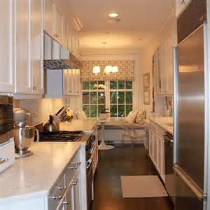 White Galley Kitchen Designs White Galley Kitchen Design Kitchen Pinterest
