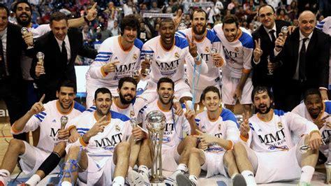 fotos real madrid baloncesto el real madrid de baloncesto mejor club del mundo en la