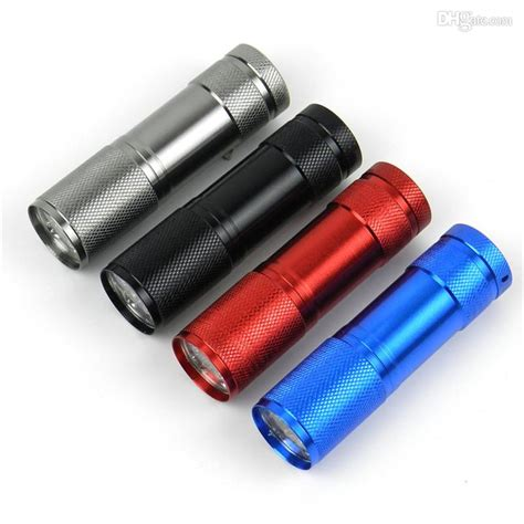 Led Mini Torch 9 led mini torch mini led flashlight 300lm led cing