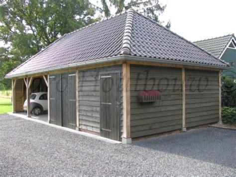 garage rabat houten schuur bouwen jaro houtbouw kalei rabat