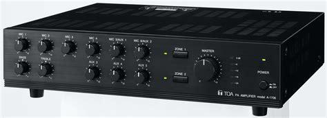Mixer Audio Yang Bagus A 1706 Ch Toa Corporation