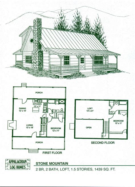 Log Cabin With Loft Floor Plans Cabin Home Plans With Loft Log Home Floor Plans Log Cabin Kits Appalachian Log Homes I