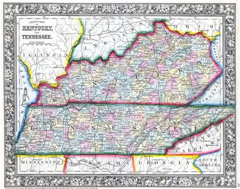 kentucky map detailed large detailed administrative map of kentucky and