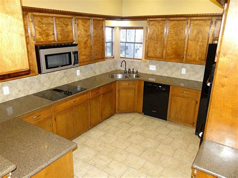 Kitchen Corner Sink Cabinet Interior Design 17 Tile Flooring Ideas For Living Room