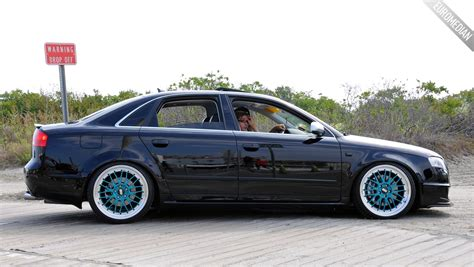 Bbs Audi Rims by Featured Ride Steven S B7 Audi A4 Dtm On Teal Bbs Lm