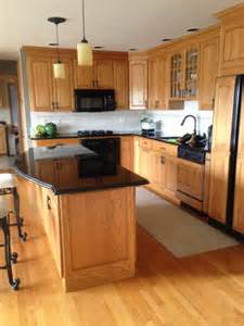 Golden Oak Kitchen Cabinets Should I Paint My Golden Oak Cabinets