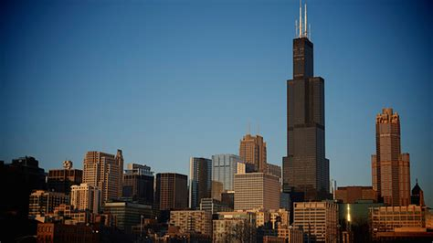 Willis Tower by Willis Tower Knocked Out Of List Of Top 10 Tallest