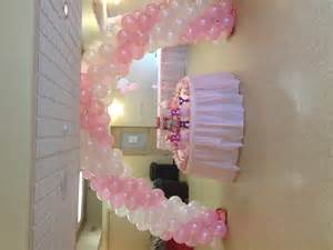 Baby Shower Balloon Arch by Baby Shower Balloon Arch And Sweet Table Baby Shower