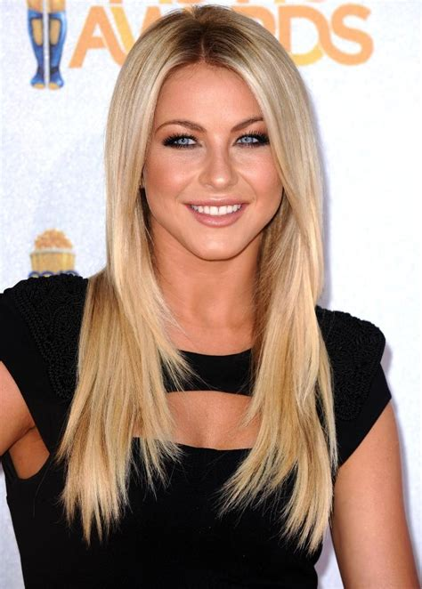 blonde hairstyles middle parting julianna hough she is the most beautiful blond ever eye