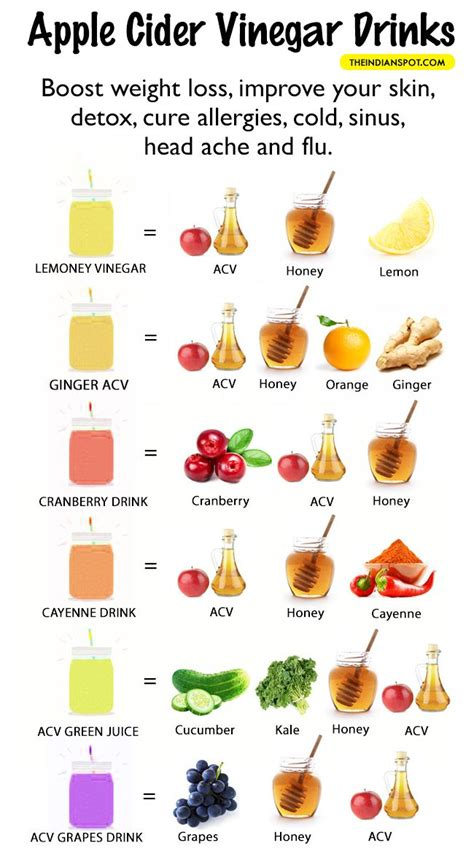Can Apple Cider Vinegar Detox Your From Thc by Apple Cider Vinegar Detox Drink Recipes Acv Apple Cider