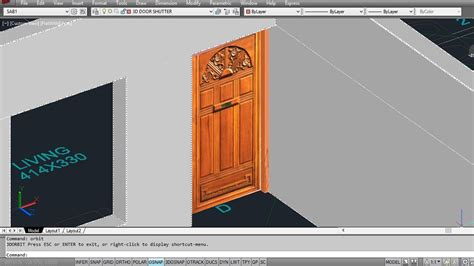 home design 3d how to add windows autocad 3d house part2 making 3d doors youtube