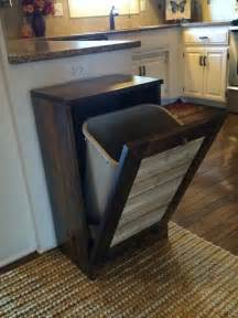 kitchen bin ideas pallet kitchen trash bin pallet furniture plans