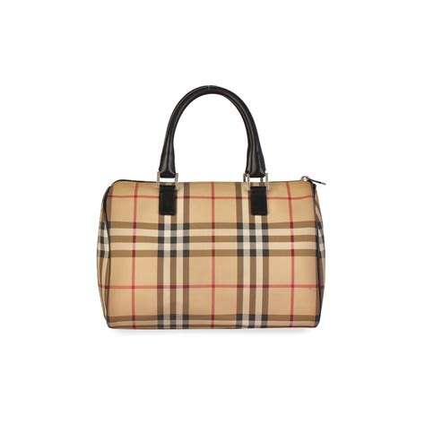 Resort Burberry Check Satchel by Burberry Haymarket Check Satchel Luxity