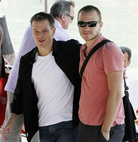 heath ledger wohnung new york heath ledger matt damon photos photos zimbio
