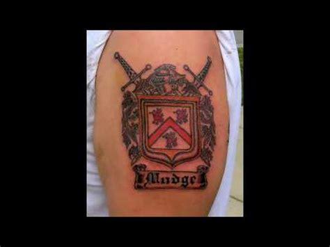 family tattoo youtube family crest tattoos youtube