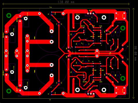 capacitor pcb layout mr evil s realm 4 subwoofer power supply 2