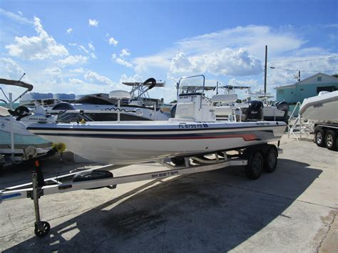 skeeter center console boat for sale 2010 used skeeter zx 22 bay center console fishing boat