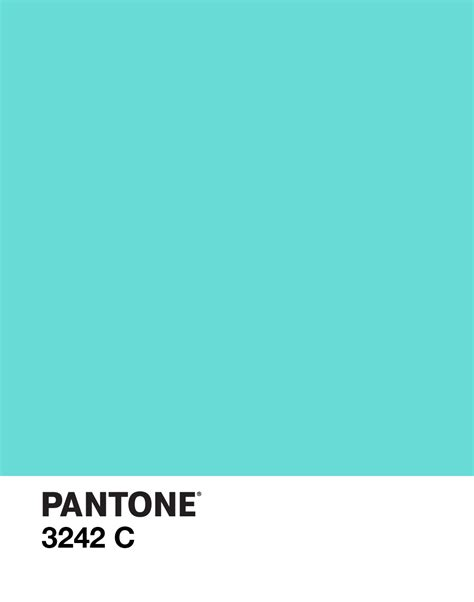 pantone s pantone 3242 c color design aqua beautiful things