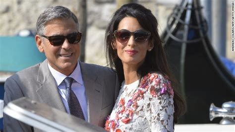Mr And Mrs Flintoff Model For George At Asda by Amal Alamuddin Now Amal Clooney That Ok Opinion Cnn