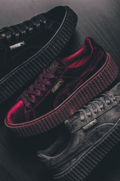 Sepatu Rihana Suede 25 best ideas about rihanna sneakers on rihanna creepers shoes creepers and