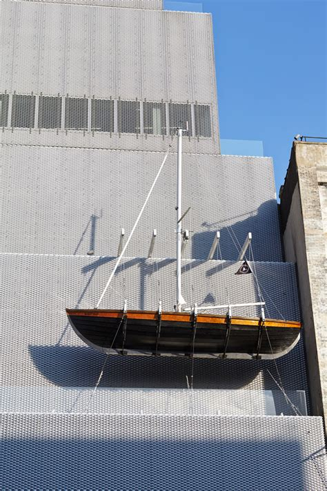 designboom ghost ship chris burden extreme measures at new museum