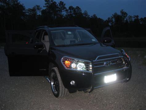 Toyota Rav4 Headlights 06 08 Toyota Rav4 Ccfl Halo Projector Headlights