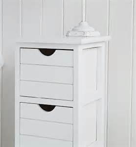 Narrow Bedside Cabinets White Dorset 25cm Narrow White Bedside Table Bedroom Furniture