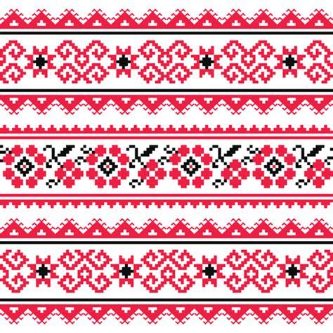 ukraine pattern vector ukraine style fabric pattern vector 04 vector pattern