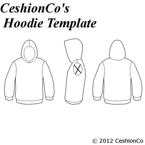 hoodie design template png ceshion s hoodie template by ceshionco on deviantart