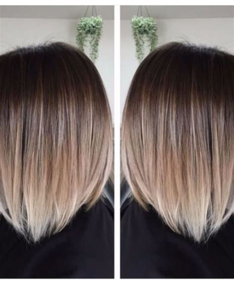 pictures of diangle bob with ombre color evening shadow short hair ombre 187 deutsch style