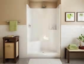 maax 174 evergreen 1 shower lh seat center drain at