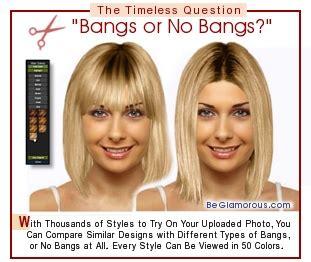 virtual bangs fringe hairstyles upload  photo  bangs  haircuts color ideas app