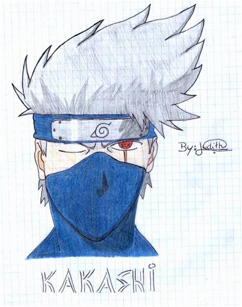 imagenes para dibujar kakashi dibujos de judi chan autora naruto anime